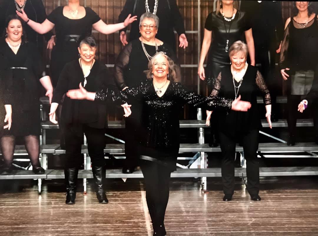 2018 Sweet Adelines Region 16 Contest Stage